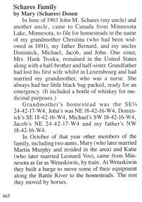 Schares Family History 1