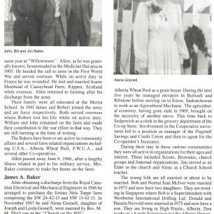 Baker Family History 1