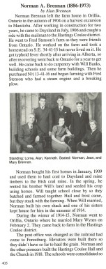 Brennan Family History 1