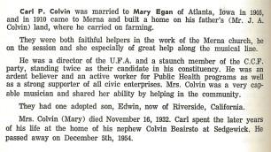 Colvin Family History 1