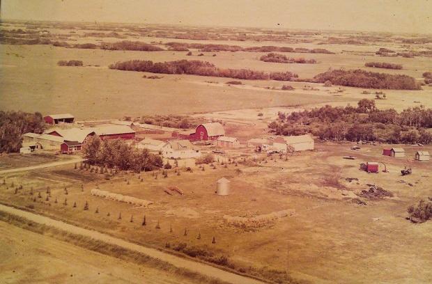Kroetsch Farmyard 1981