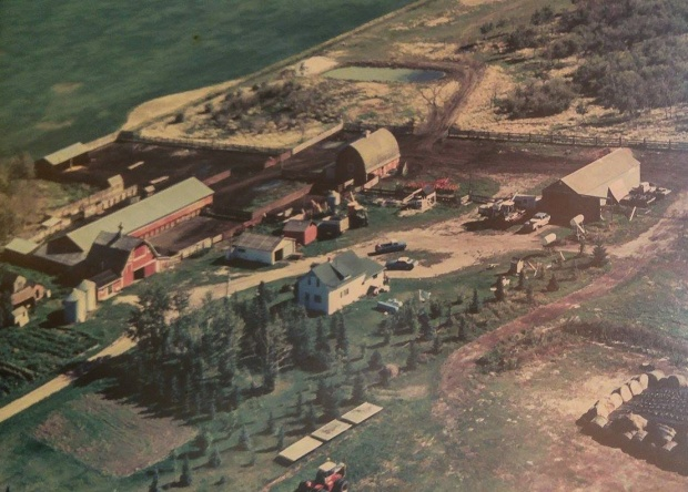 Kroetsch Farmyard 1988