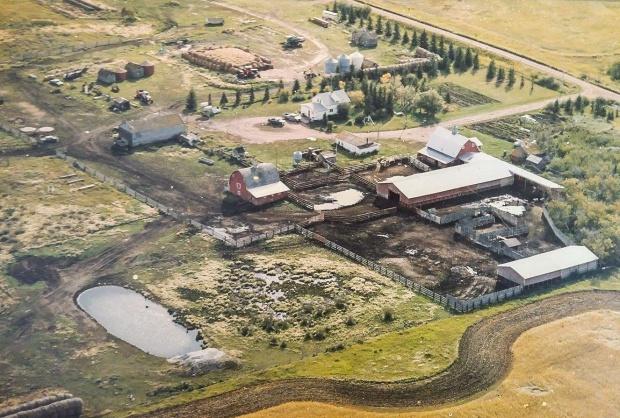Kroetsch Farmyard 1996