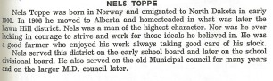 Nels Toppe History 1