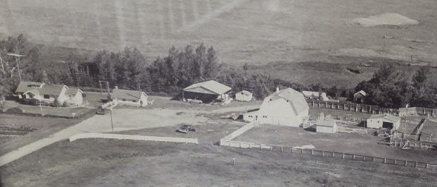 Aerial Photo 1976
