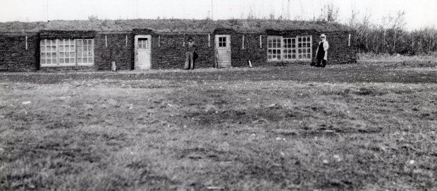 Badry Sod Barn 1956