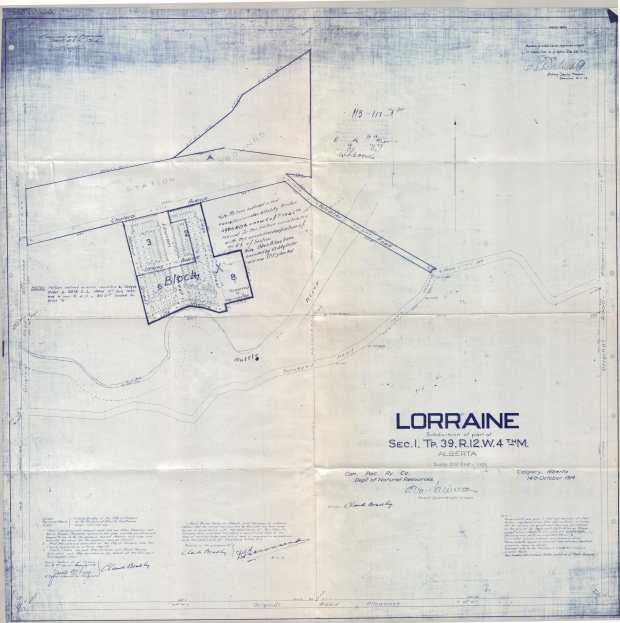 Lorraine Town Site